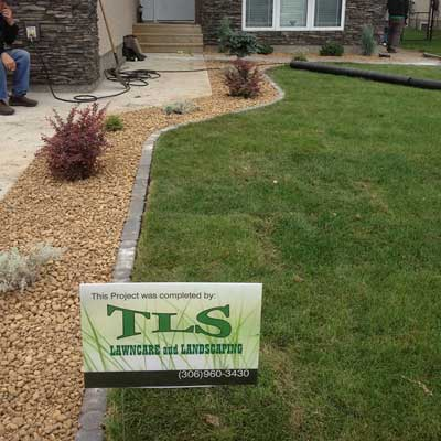 TLS Yard Sign